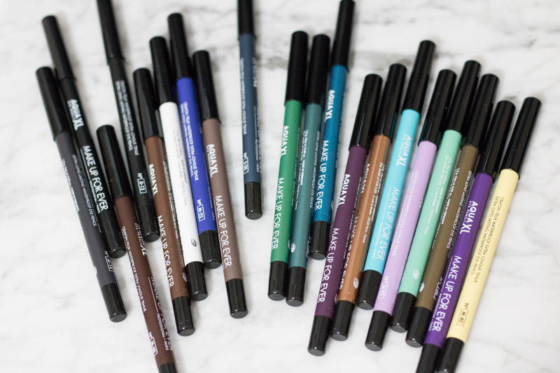 Make Up For Ever Aqua XL eyeliners