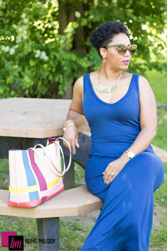 All About the Blues OOTD Being Melody and Weight Loss www.beingmelody.com