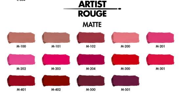 Deets on the New Make Up For Ever New Artist Rouge Lipsticks