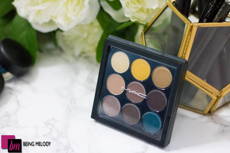MAC Cosmetics She's a Model EyeShadow x9 Swatches and Review