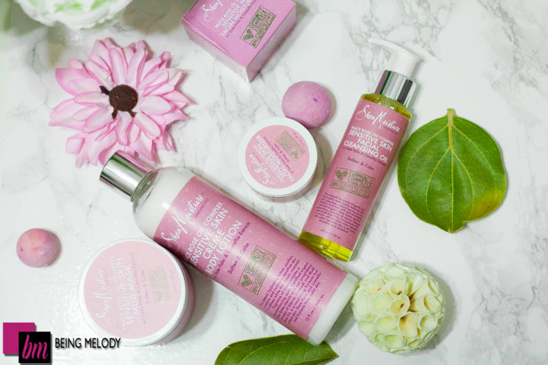 Shea Moisture Rose Oil Peace Complex is great for sensitive skin. www.beingmelody.com