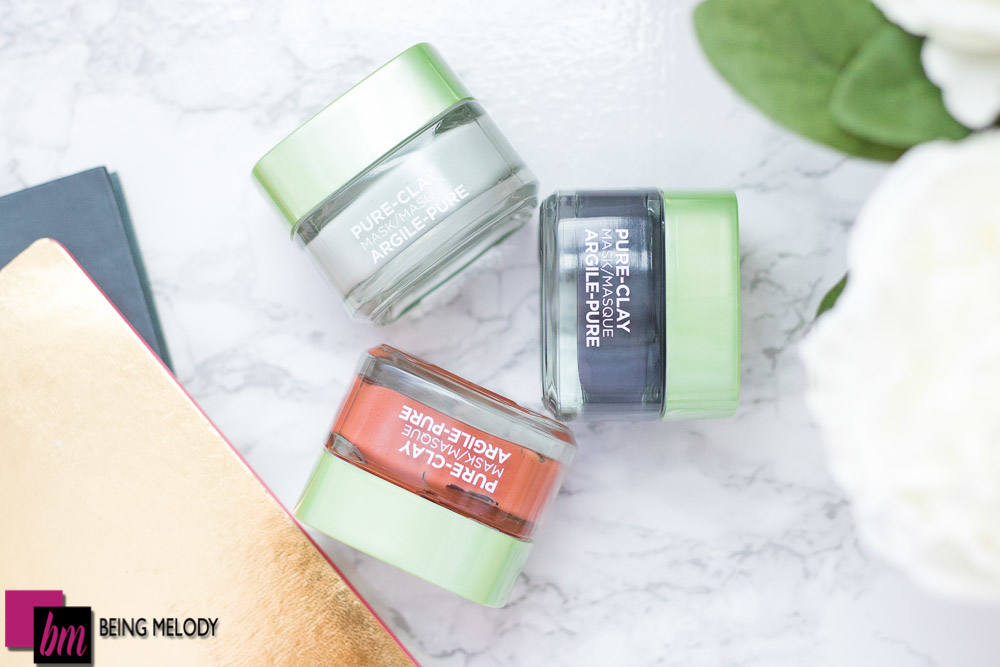 The L'oréal Pure Clay Mask are tailor made facial mask to beautify skin in ten minutes. www.beingmelody.com