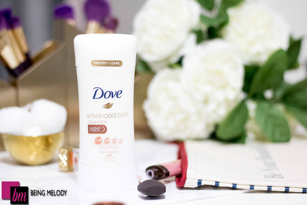 Dove Advanced Care Antiperspirant gives you 48 hours of odor and wetness protection! |www.beingmelody.com