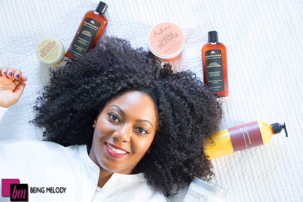 Favorite Products for Maintaining a Curly Weave | www.beingmelody.com