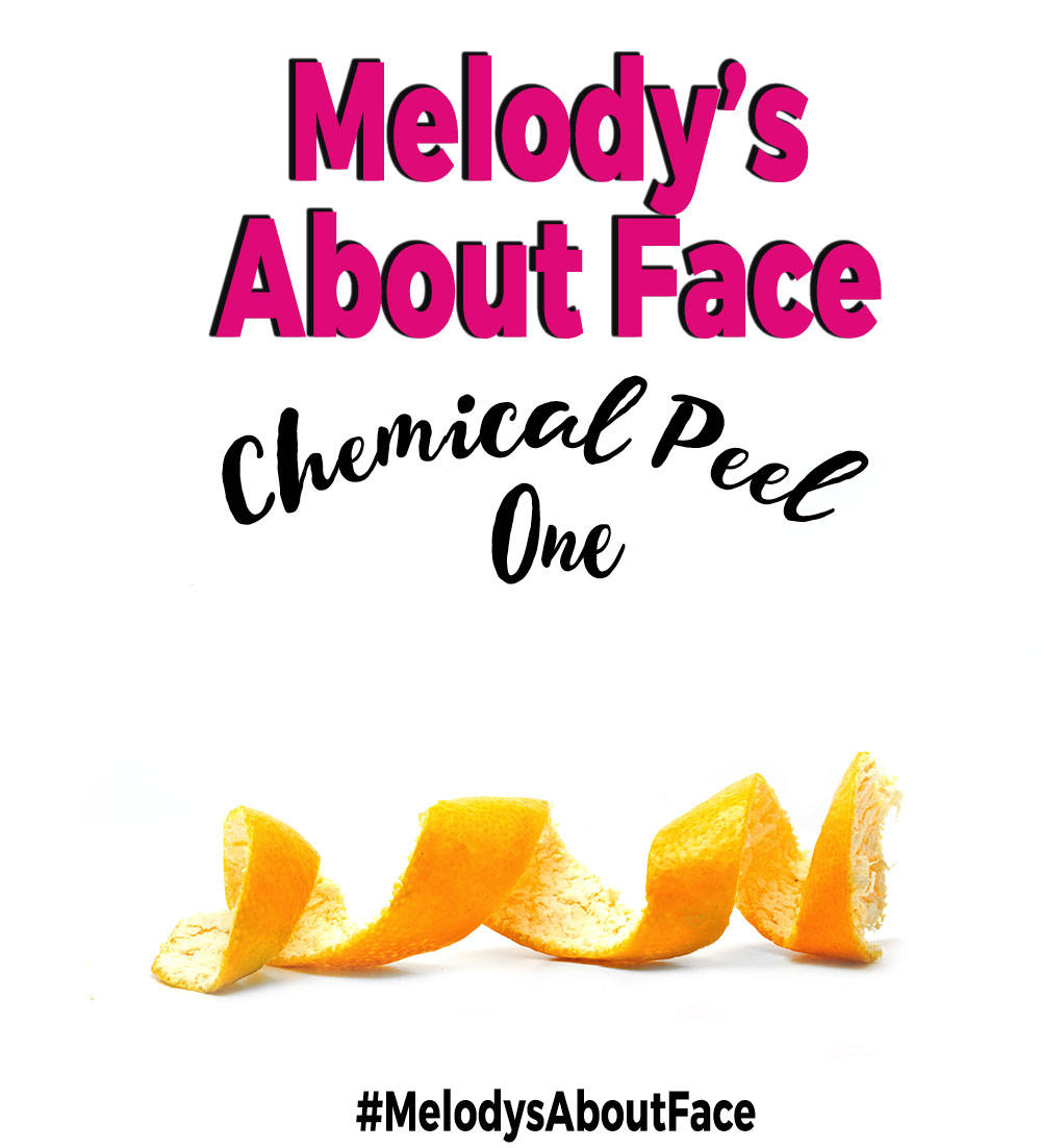 Melody's About Face Chemical Peel Session One!