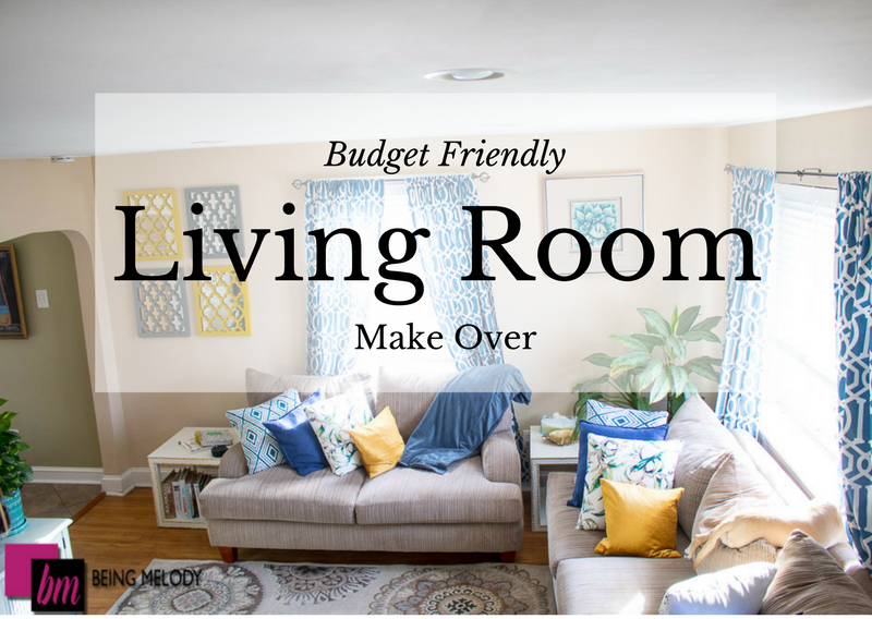 Living Room Make Over On a Budget with Target Style and H&M Home