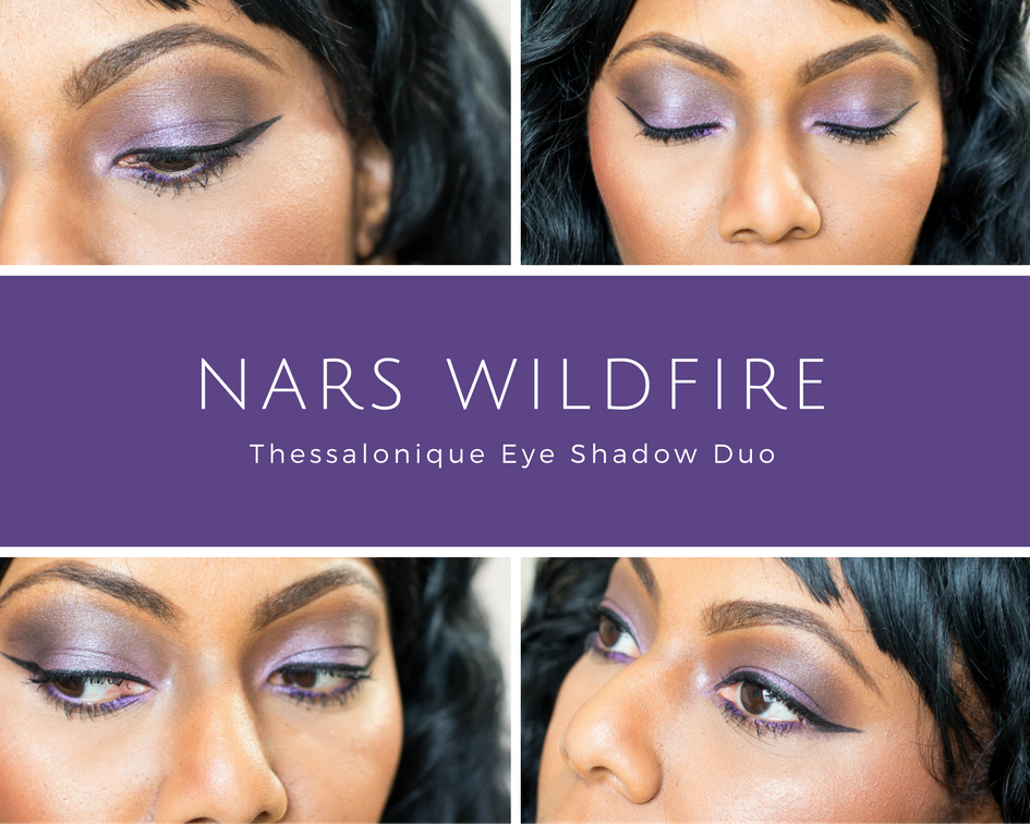 NARS WildFire Eye Look Featuring Thessalonique Eyeshadow Duo