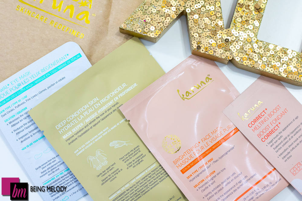 Karuna Be Mine Valentine's Day Sheet Mask Set