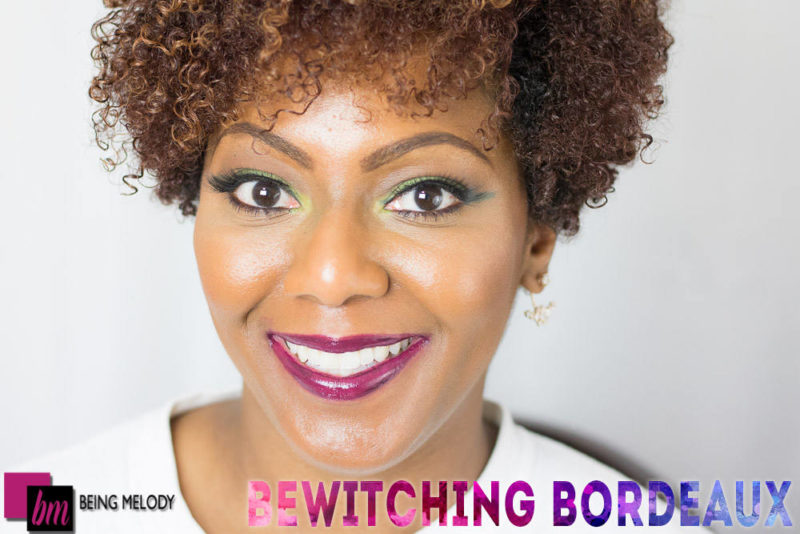 Loreal Infallible Lip Paint- Bewitching Bordeaux - www.beingmelody.com