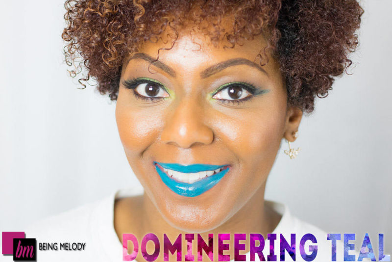 Loreal Infallible Lip Paint- Domineering Teal - www.beingmelody.com
