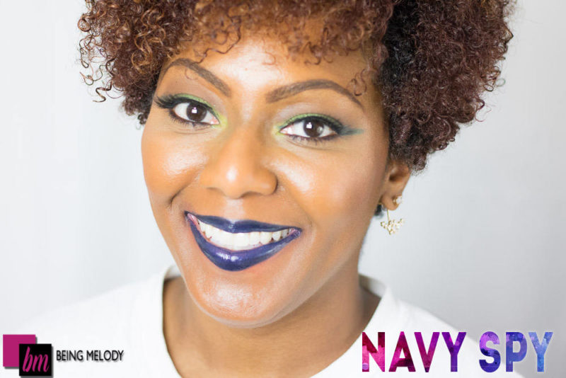 Loreal Infallible Lip Paint- Navy Spy - www.beingmelody.com
