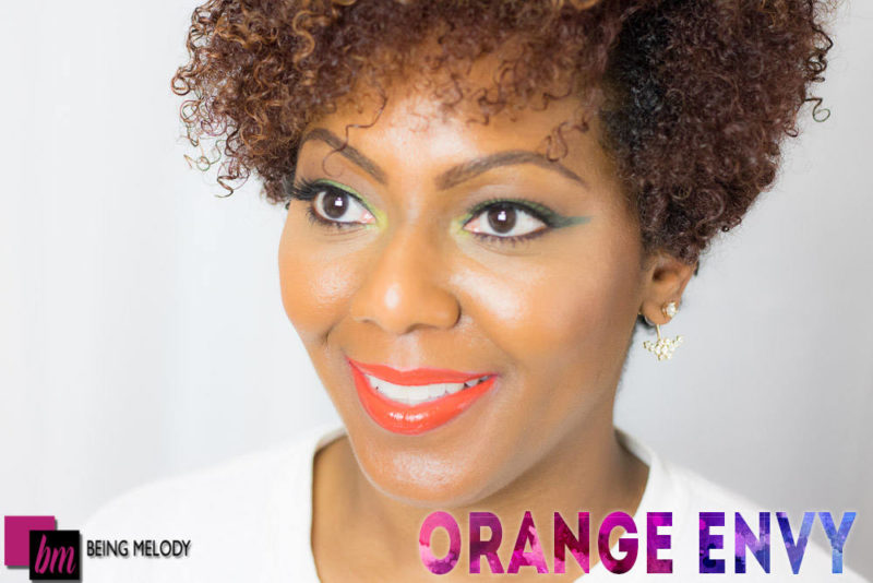 Loreal Infallible Lip Paint- Orange Envy- www.beingmelody.com