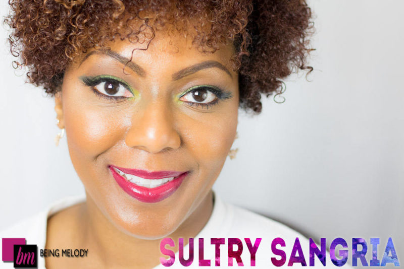 Loreal Infallible Lip Paint - Sultry Sangria - www.beingmelody.com