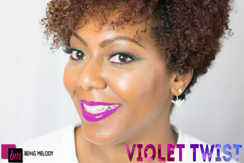 Loreal Infallible Lip Paint - violet twist -www.beingmelody.com