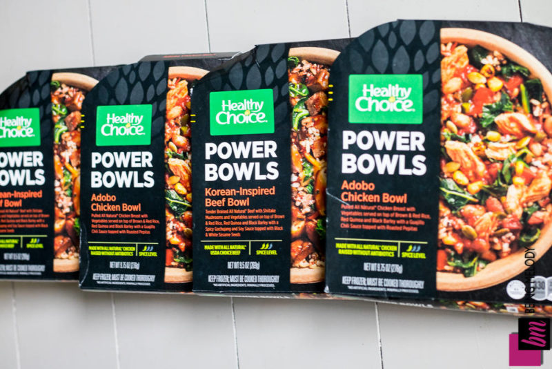 Healthy Choice Power Bowls #hcmeals4women