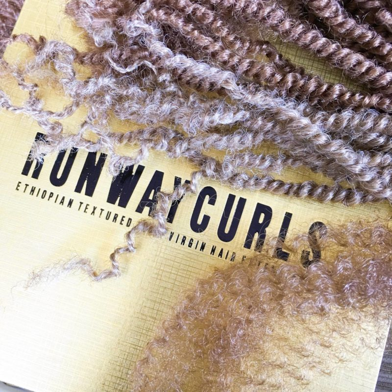 Runway Curls City Bulk Hair #runwaycurlsblogger