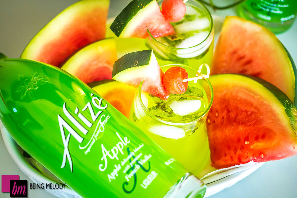 Alizé Apple Mint Lemonade Refresher