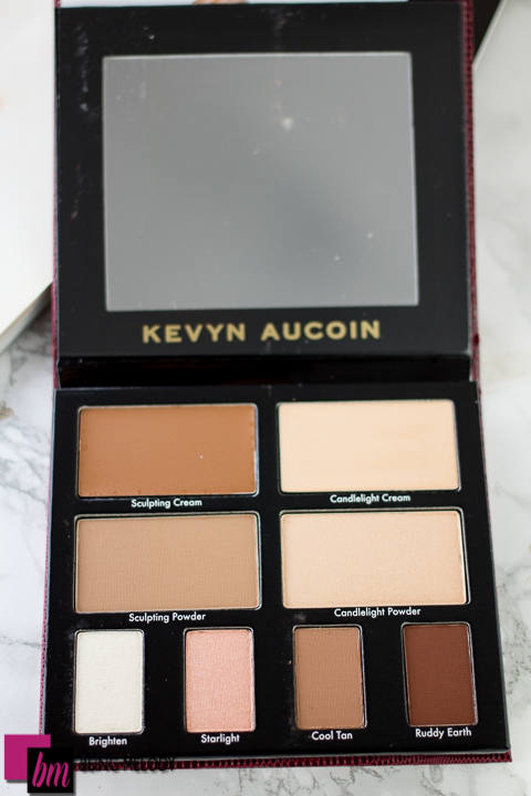 Kevyn Aucoin The Art of Contour Palette II www.beingmelody.com