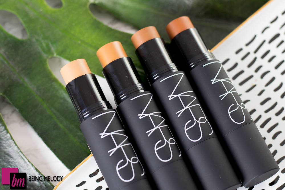 Nars Velvet Matte Foundation Stick Review and Swatches on Medium Brown Skin