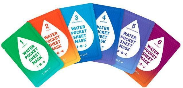 Water Pocket Sheet Mask Set