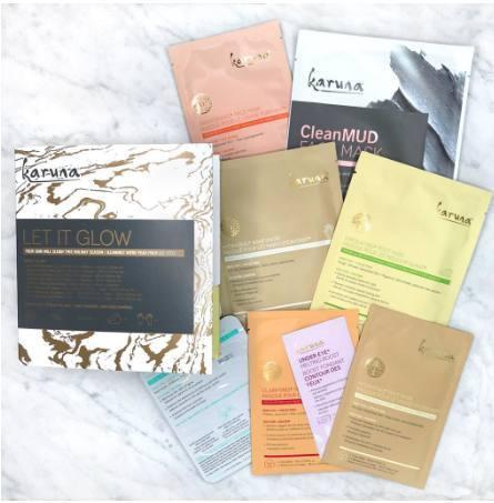 Karuna Skin Let it Glow Kit www.beingmelody.com