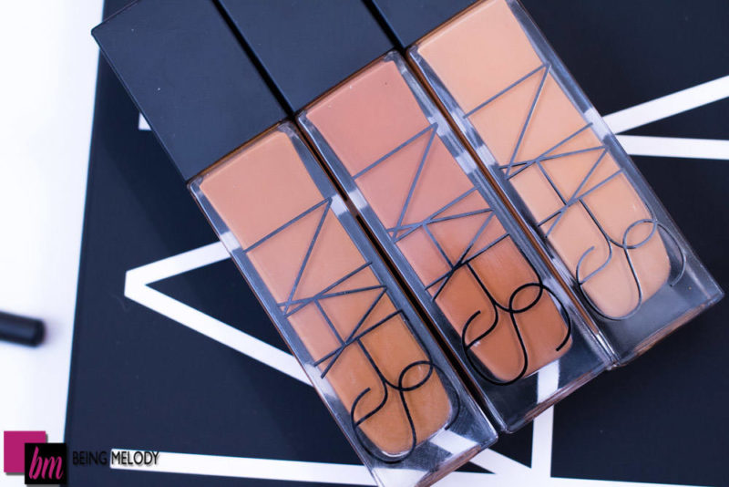 Nars Natural Radiant Longwear Foundation Macao on Medium Brown Skin www.beingmelody.com