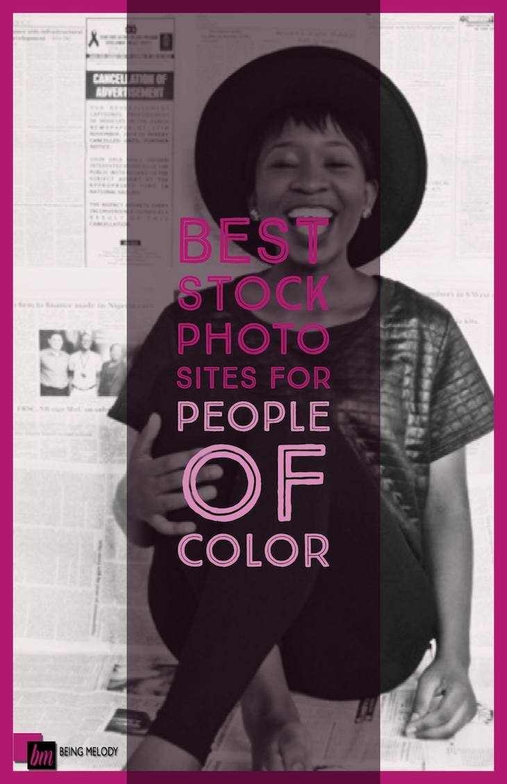 Best sites for Stock Photos for People of Color www.beingmelody.com