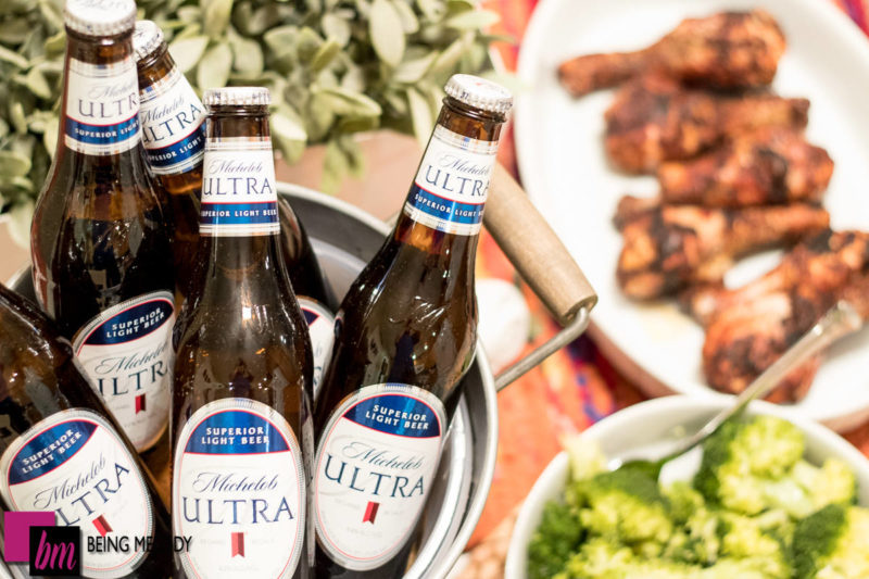 Michelob ULTRA pairs well great tasting healthy food.
