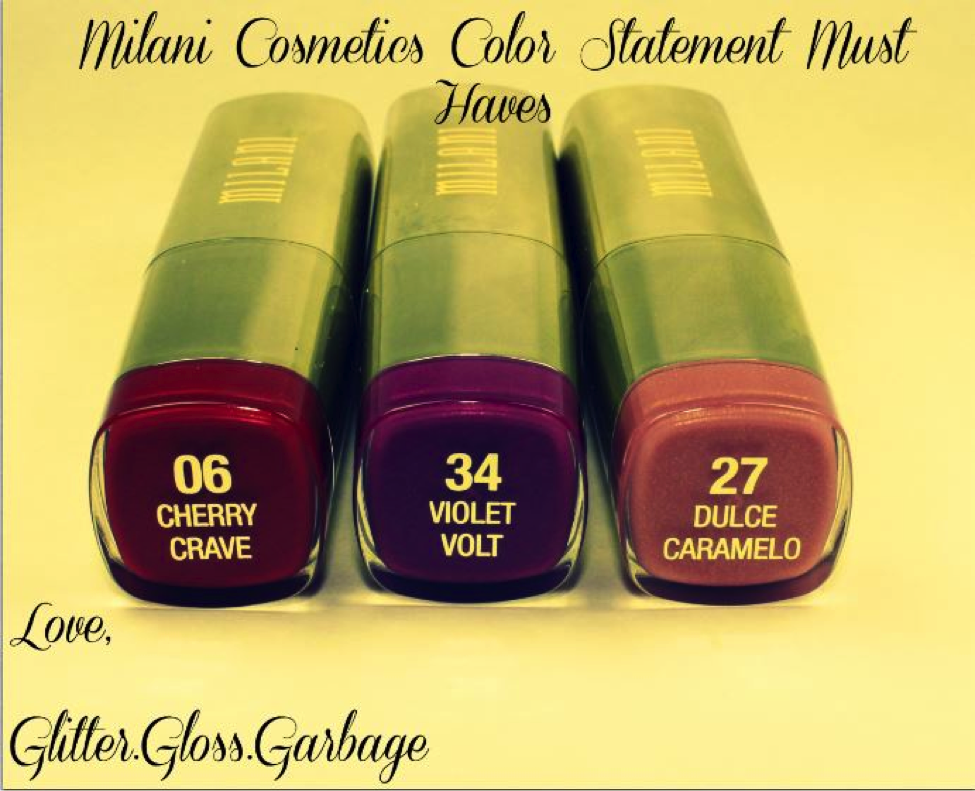 Milani Cosmetics color Statement Must Haves