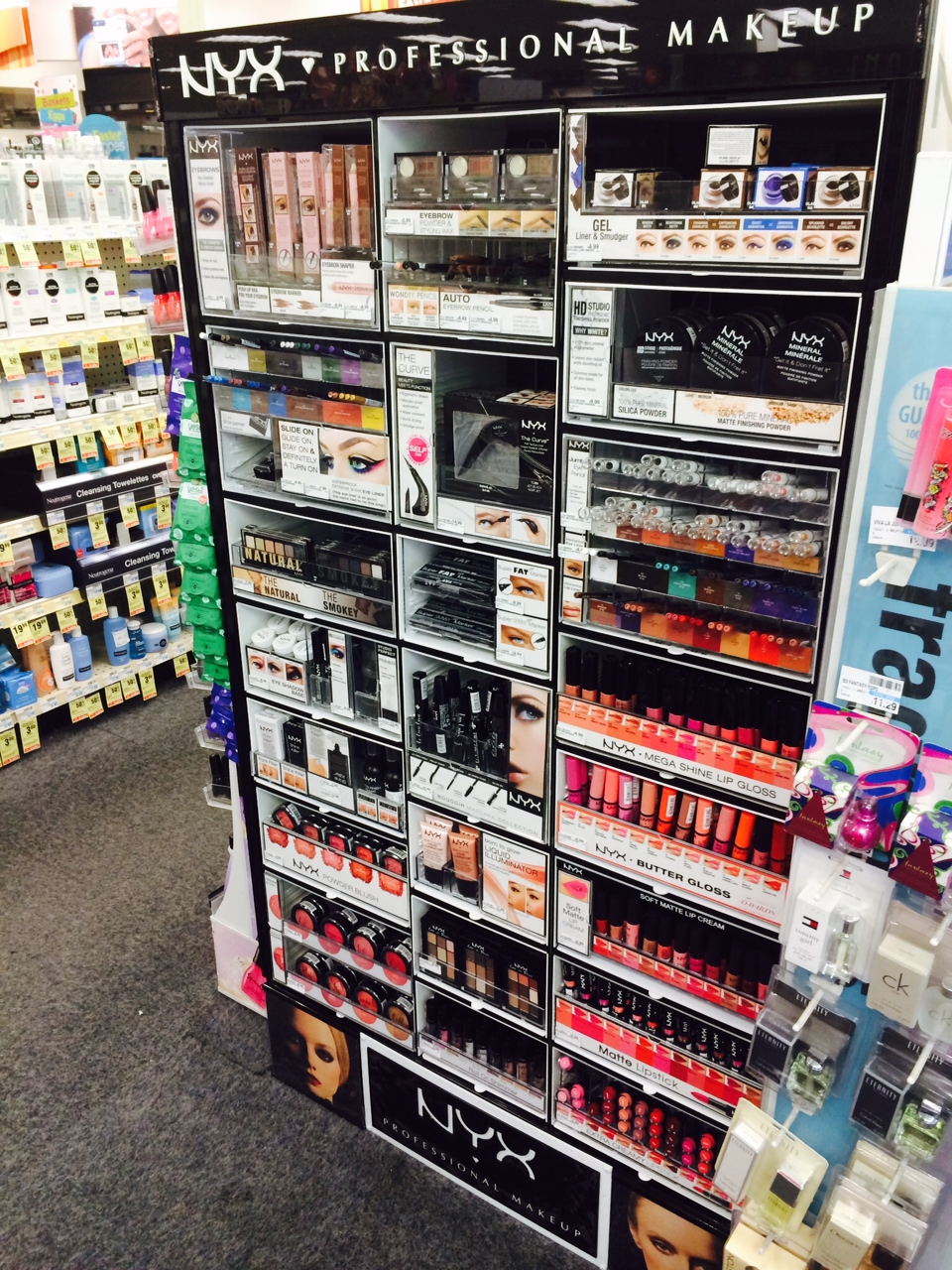 stop the presses  cvs sells nyx cosmetics now