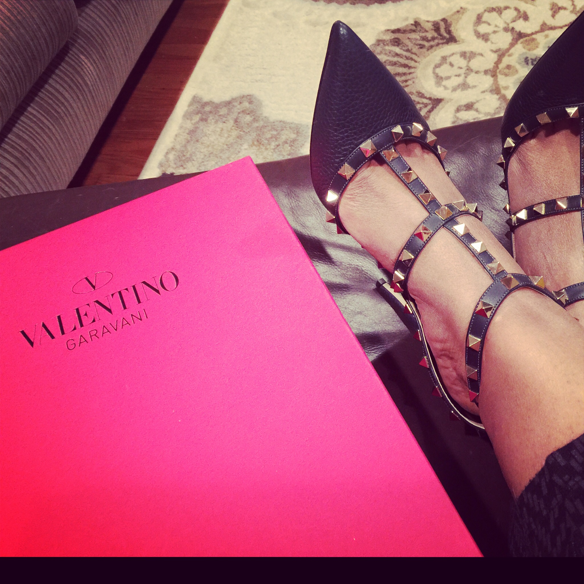 eb454b5160 How I scored my first pair of Valentino RockStud Pumps for almost half the  Price.
