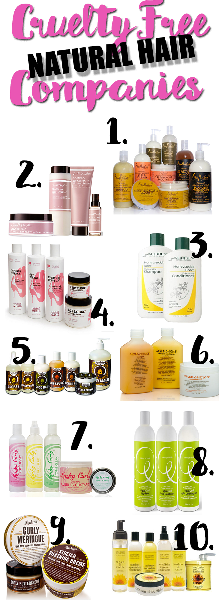 Ten Cruelty-Free Natural Hair Companies You Should Be Trying - www ...