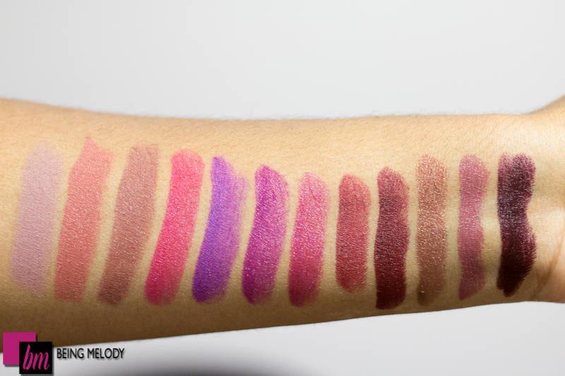 Préféré Urban Decay Vice Lipstick Swatches on Medium Brown Skin - www #EQ_07