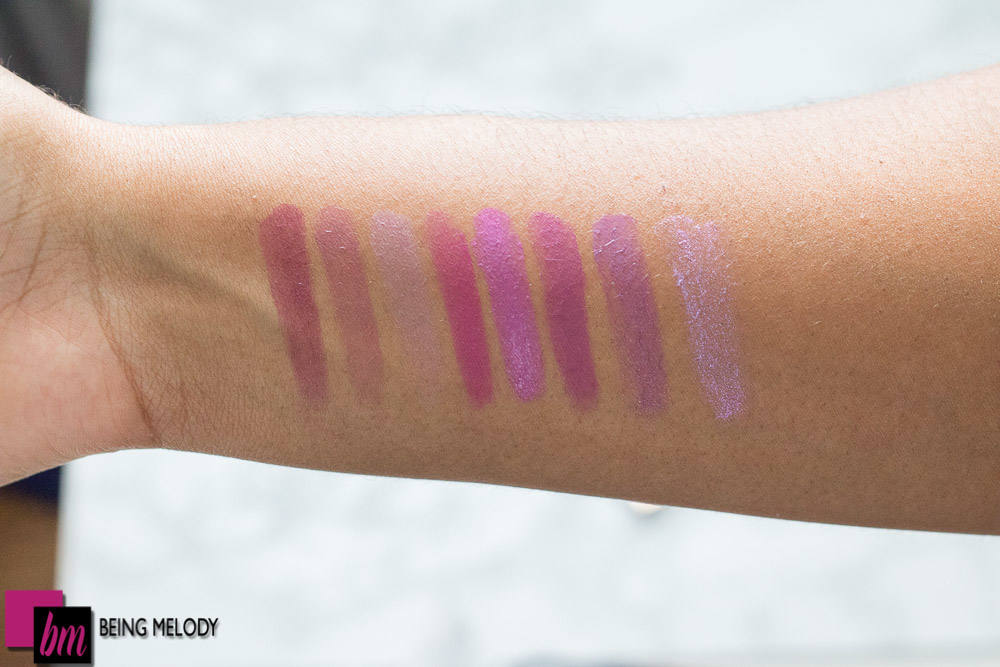 L'oreal Colour Riche Collection Swatches and More on Medium Brown ...