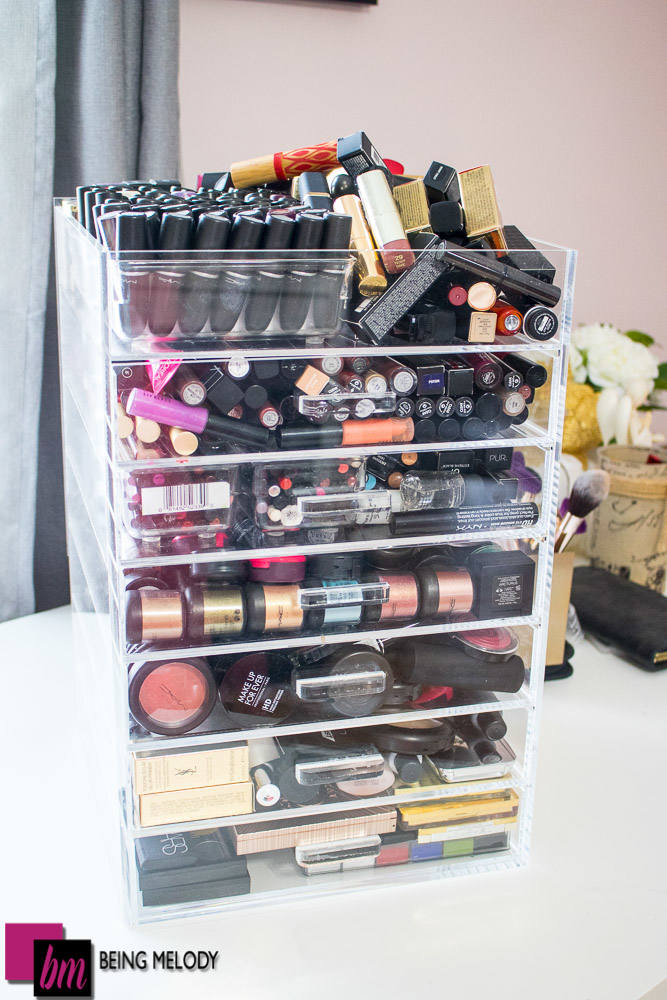 Easy diy lipstick organization for your makeup holder www how to organize your lipstick collection in an acrylic makeup orgranizer beingmelody solutioingenieria Gallery