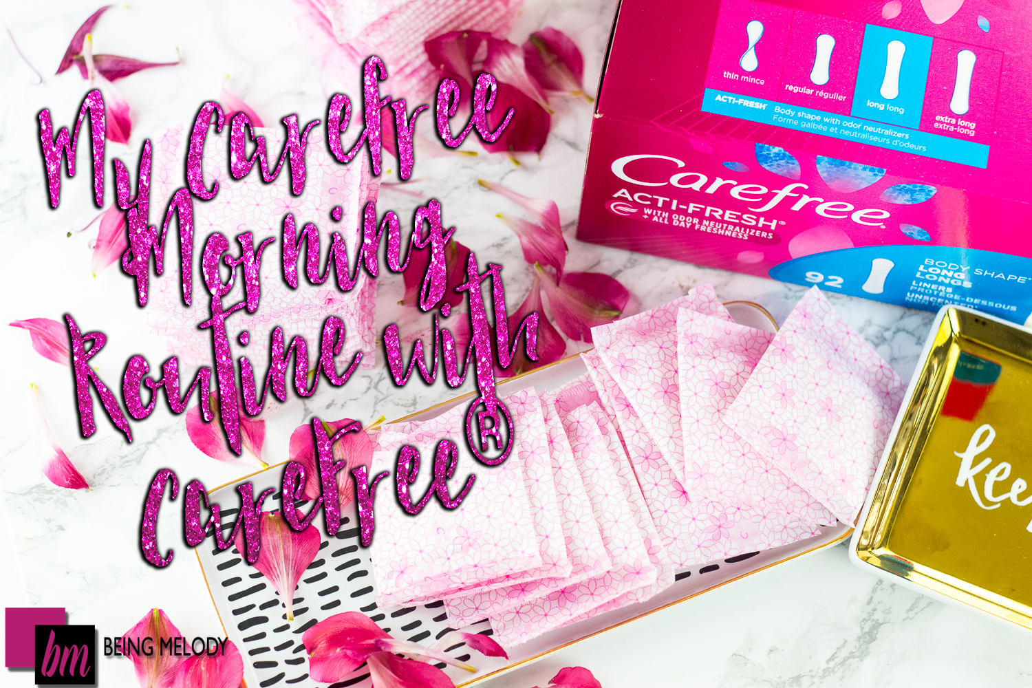 Using Carefree® in the Morning Creates Carefree and Confident Days!